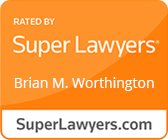 Brian M. Worthington Listed in Super Lawyers
