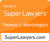 Thomas S. Worthington Listed in Super Lawyers